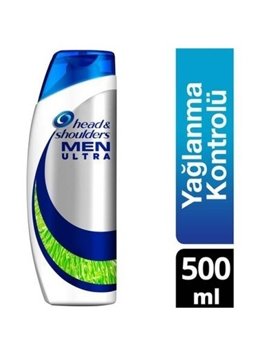 Head & Shoulders Head Shoulders Men Ultra Şampuan Yağlanma Kontrolü 500 Ml Renksiz